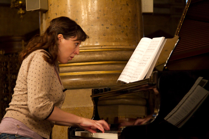 Clémence, la pianiste