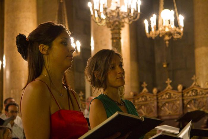 Sophie et Jill, les solistes soprane et alto