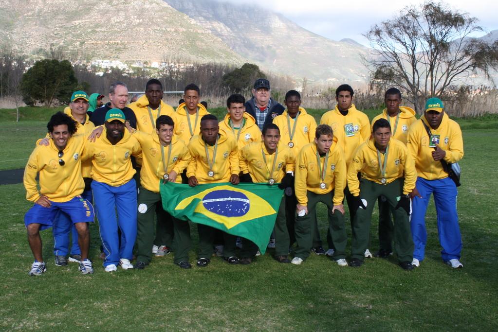 Campeões do Tornei Internacional em Cape Town