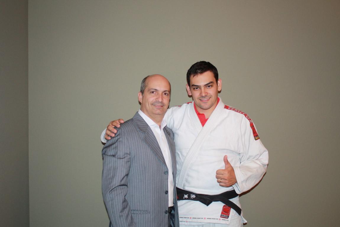 Kalifa campeão de Judô