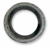 Ejemplo de Tubería tratada y libre de óxido y calcificación.