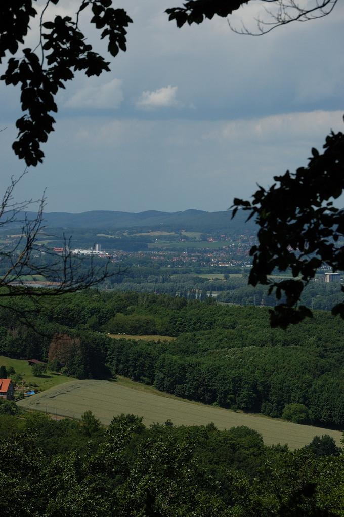 Blick über das Wesertal