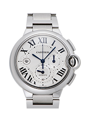カルティエ 時計 バロンブルー  クロノグラフ  買取価格