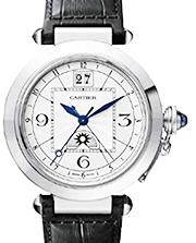 カルティエ 時計 パシャ 革ベルト 買取価格