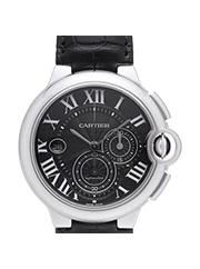 カルティエ 時計 バロンブルー  クロノグラフ メンズ  買取価格