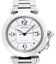 カルティエ 時計 パシャ メリディアン 買取価格
