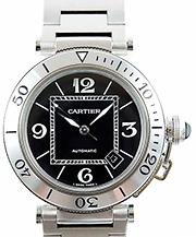カルティエ 時計 パシャ シータイマー 買取価格