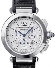 カルティエ 時計 パシャ クロノグラフ 買取価格