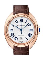 カルティエ 時計 クレ  ホワイトゴールド 買取価格