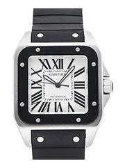 カルティエ 時計 サントス100 メンズ 買取価格