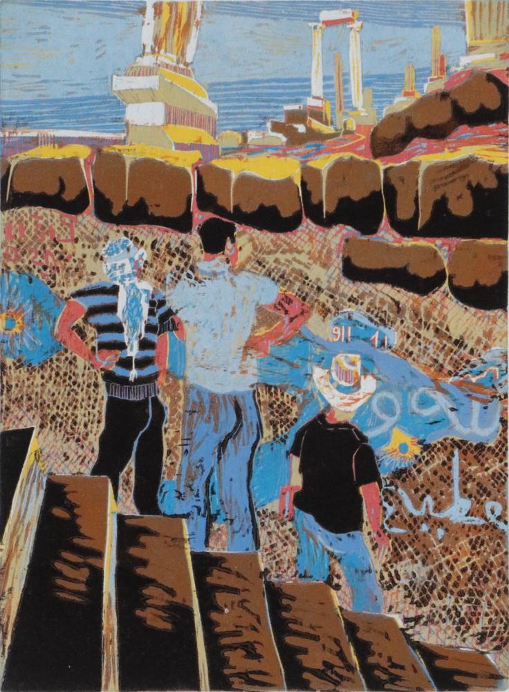 Jerasch · 2018 · Holzschnitt