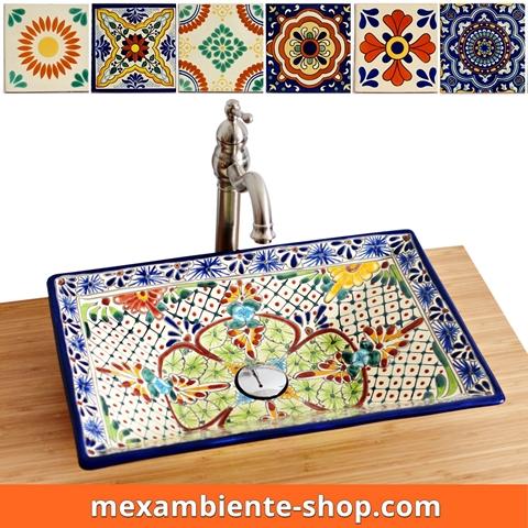 farverig vask fra mexico