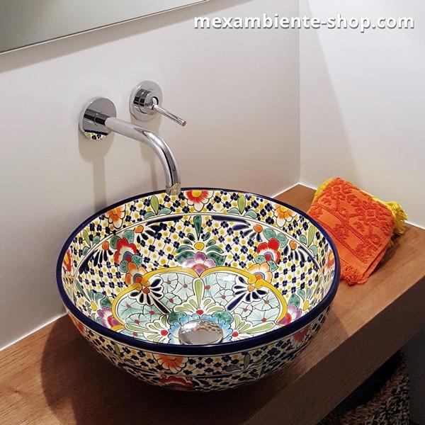 Mexambiente Aufsatzwaschbecken CARIBE
