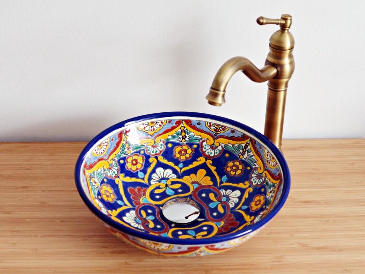 Kleines Design-Aufsatzwaschbecken MEX2 - Acapulco
