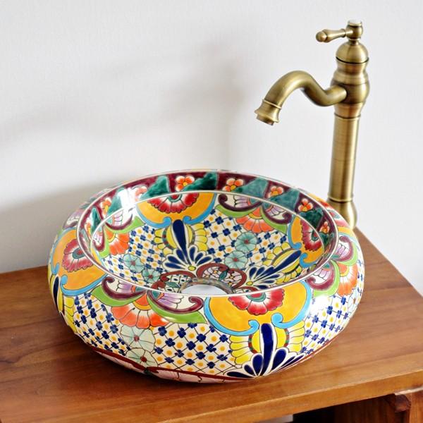 Mexambiente Aufsatzwaschbecken FRIDA