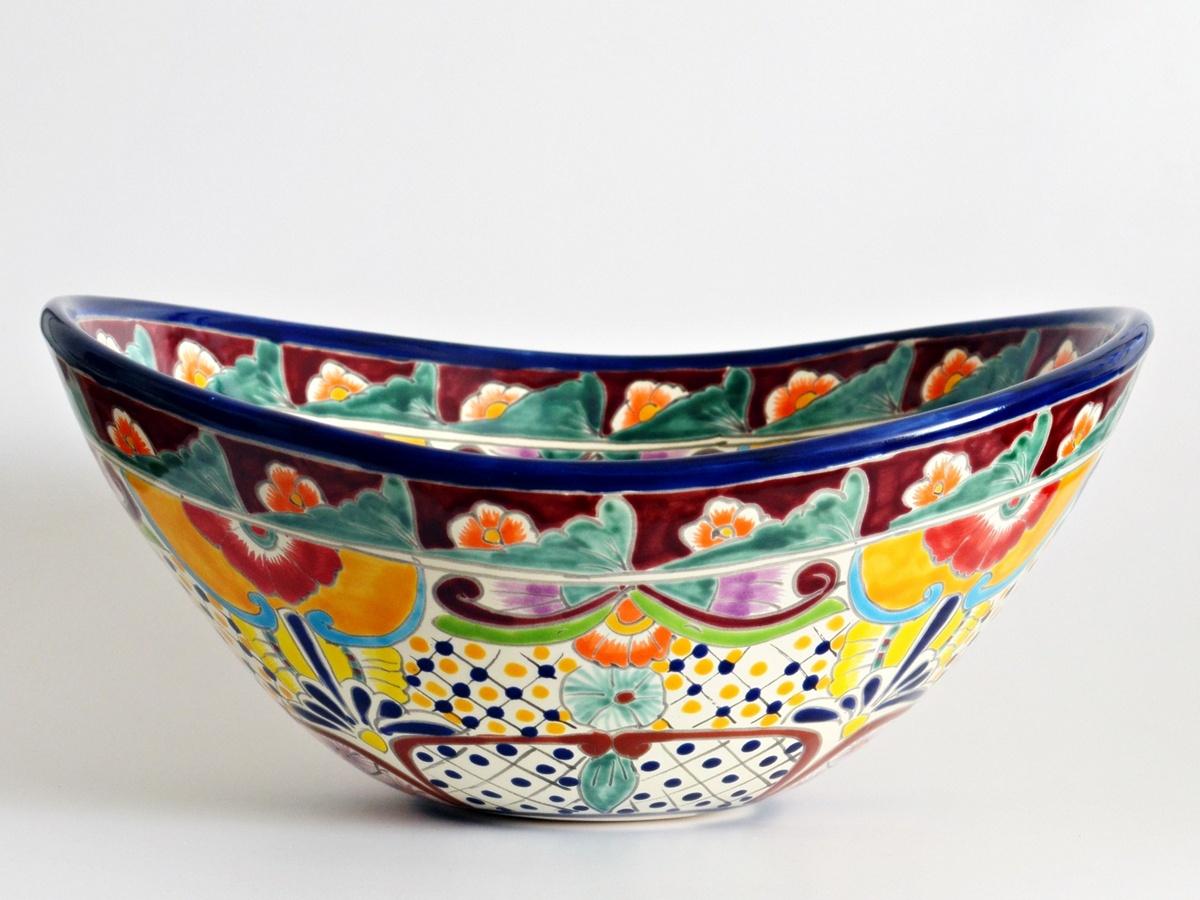 FRIDA - Mexiko Aufsatzwaschbecken oval von Mexambiente