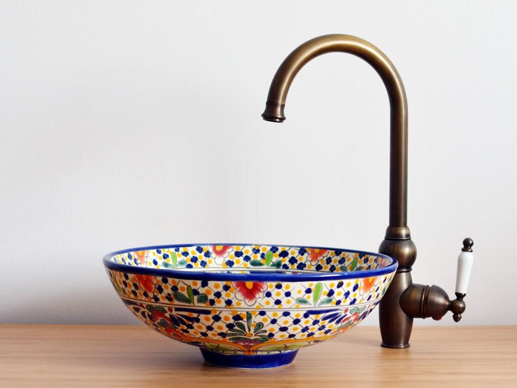 Kleines Aufsatzwaschbecken CARIBE- MEX2 - Für Gäste-WC