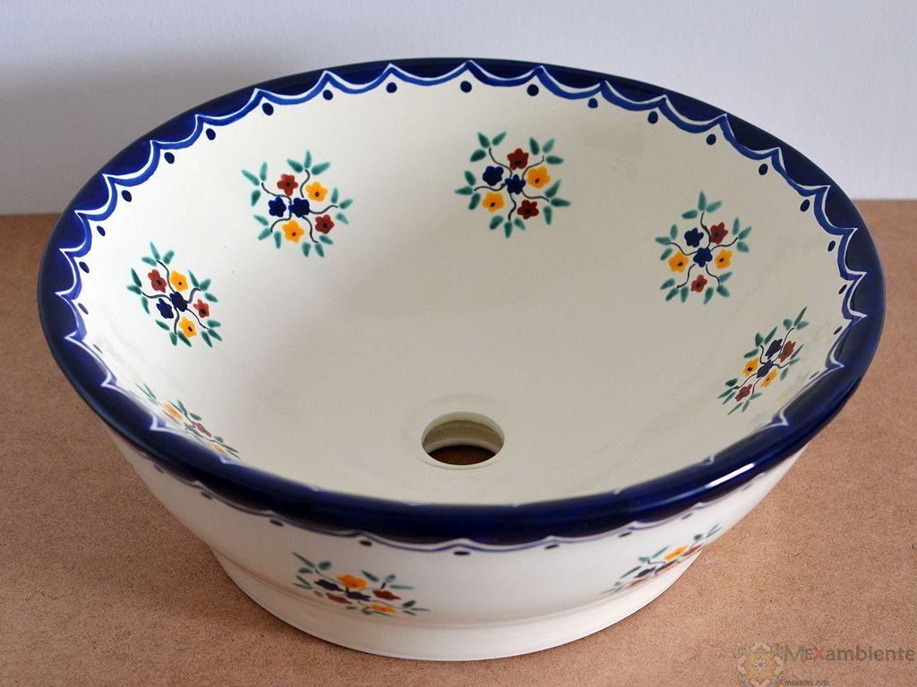 Design Waschbecken aus Mexiko - MEX 4 - PENSAMIENTO