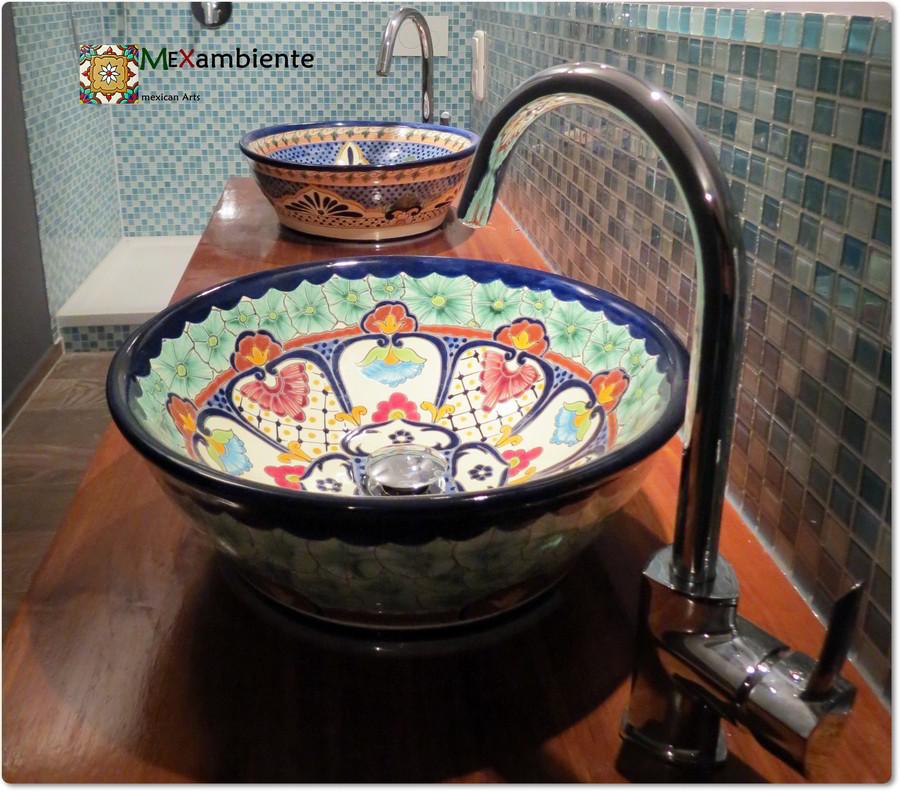 Mex4 Aufsatzwaschbecken Mexambiente Mexikanische