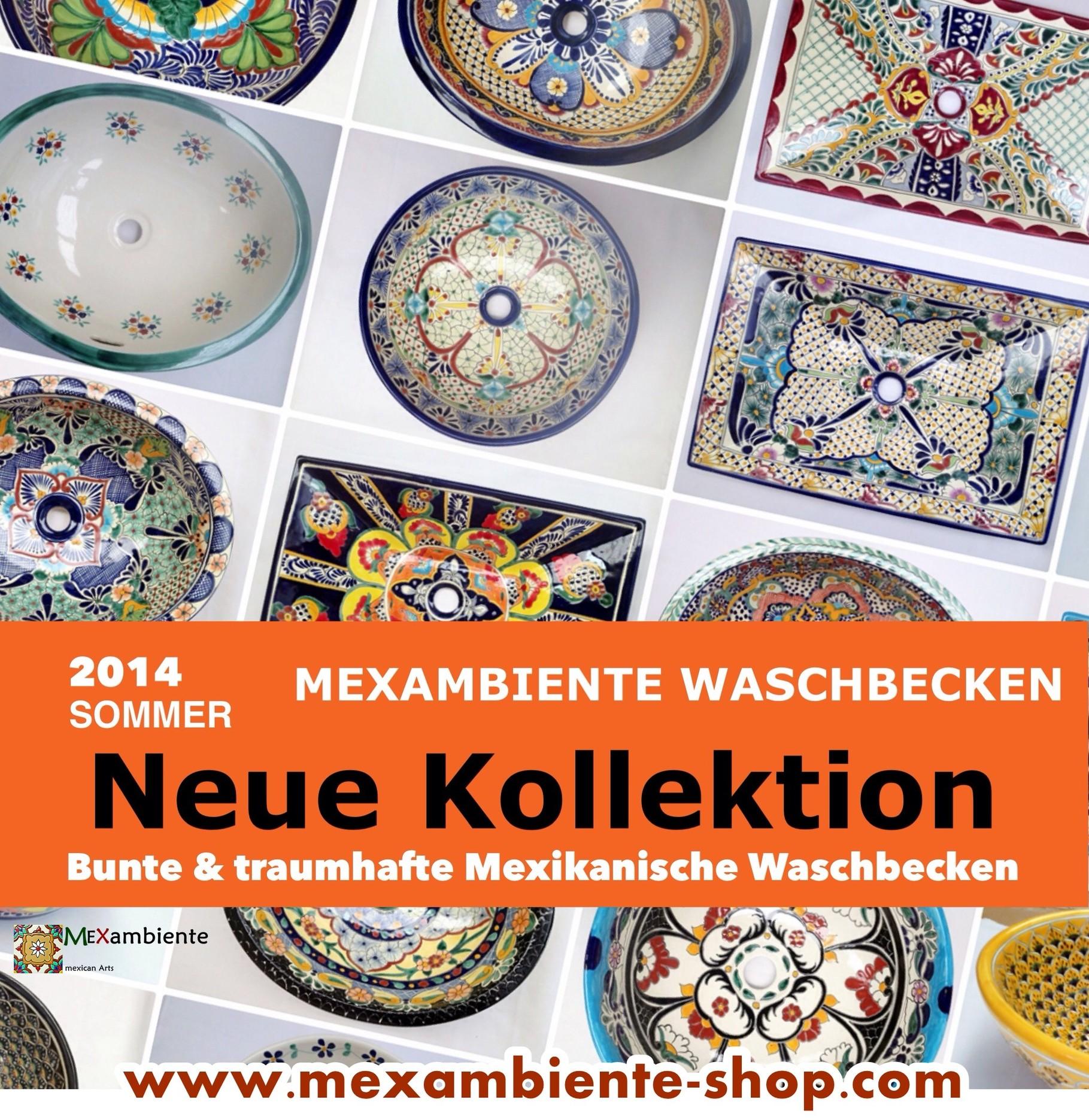Fesselnde Bunte Waschbecken Foto Von Neue Kollektion Mexikanische - Sommer 2014 -