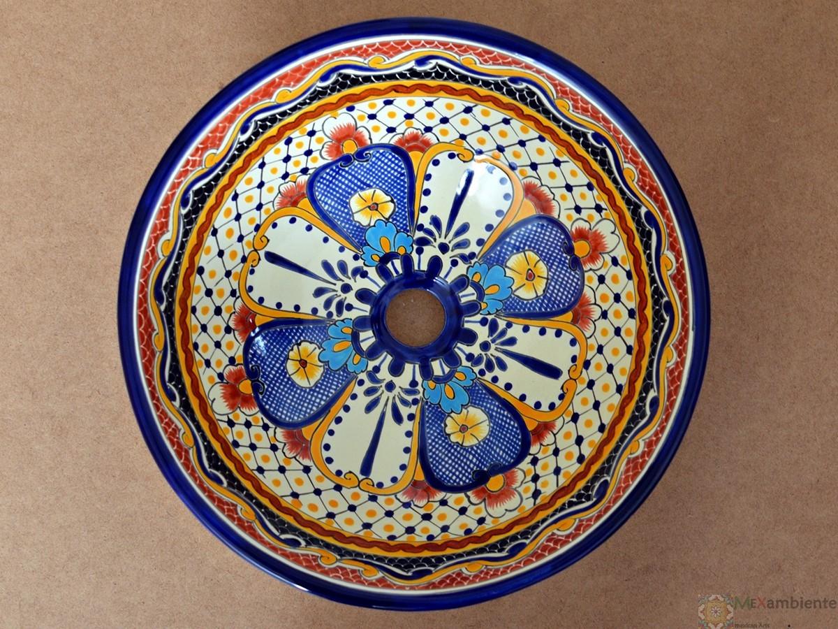 Design Waschbecken aus Mexiko - MEX4 - MAYA