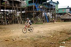 Kampong Pluk en saison sèche
