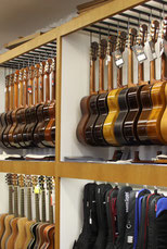 Sehr breites Instrumenten-Sortiment