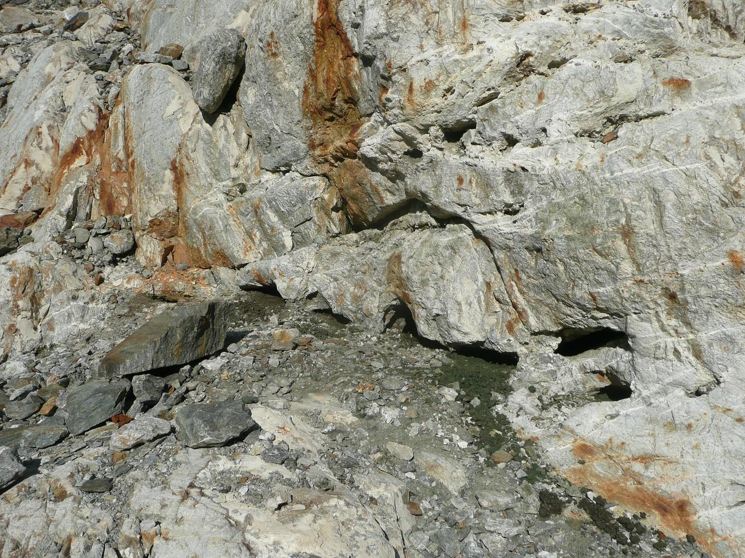 Kluftsystem am Steingletscher, Sustenpass