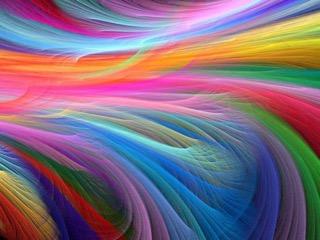 Schwingungstherapie Farben