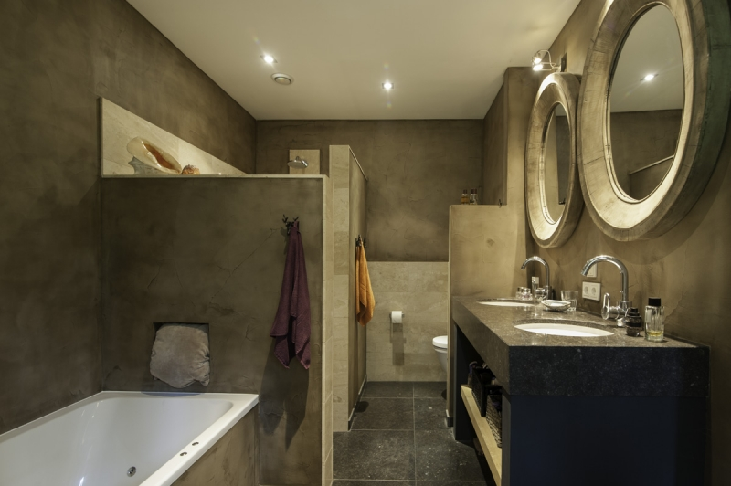 Beton Ciré im Badezimmer #Interior #Wohnen #Style