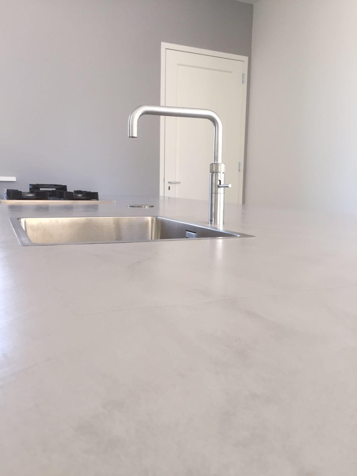 Beton Ciré Küchenblatt #Interior #Wohnen #Style