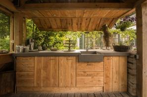 Beton Ciré Außenküche #Interior #Wohnen #Style