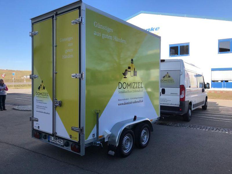 Zwei neue Fahrzeuge für unseren Fuhrpark
