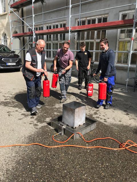 Brandschutzseminar im DOMIZIEL