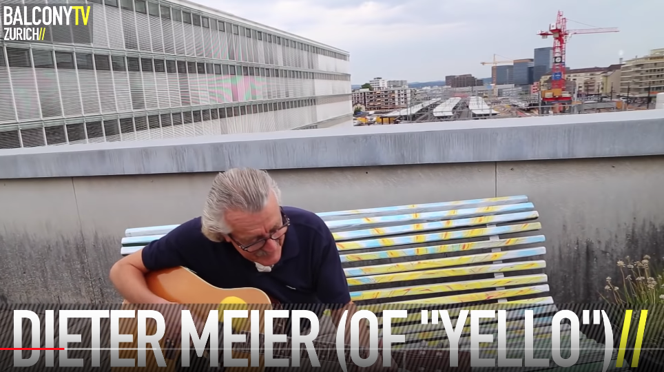 Dieter Meier of Yello