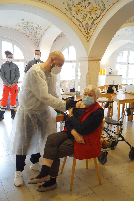 Zweite Impfrunde der Spital-Bewohner bereits abgeschlossen