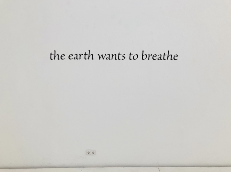 Myra Brooklyn, THE EARTH WANTS TO BREATH,  1983/2020