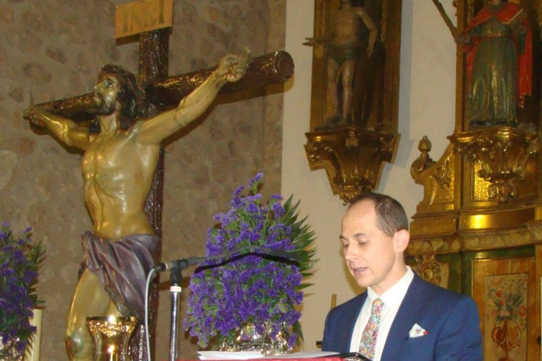 Pedro Caravaca pregonó nuestra Semana Santa
