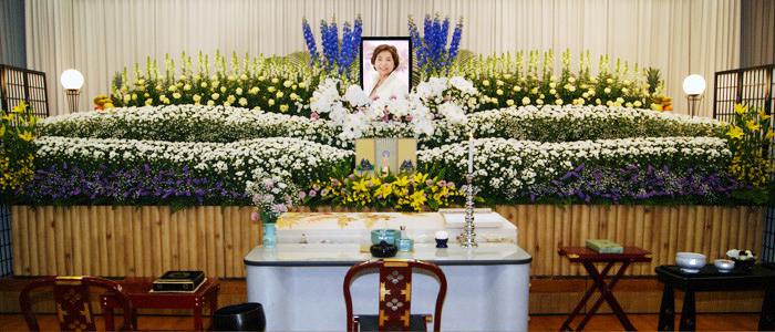 一般葬プラン150祭壇