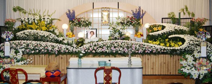一般葬プラン100祭壇