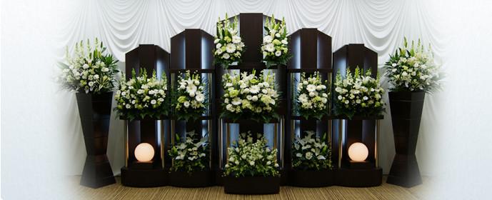 家族葬現代祭壇プラン60祭壇