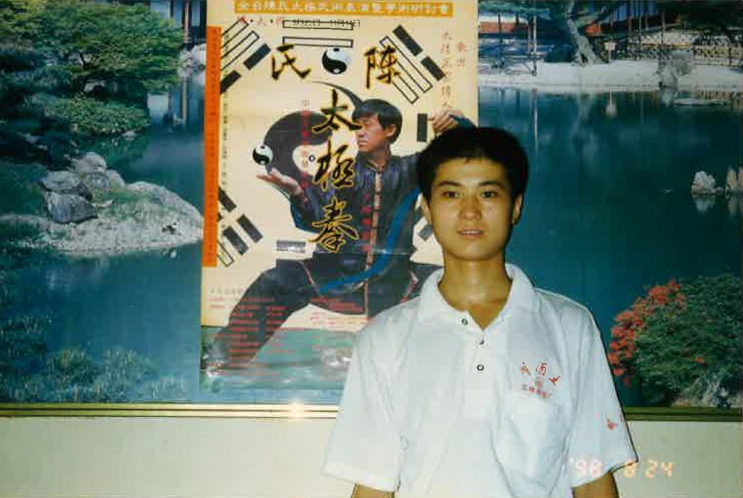 陳先生自宅の練習場