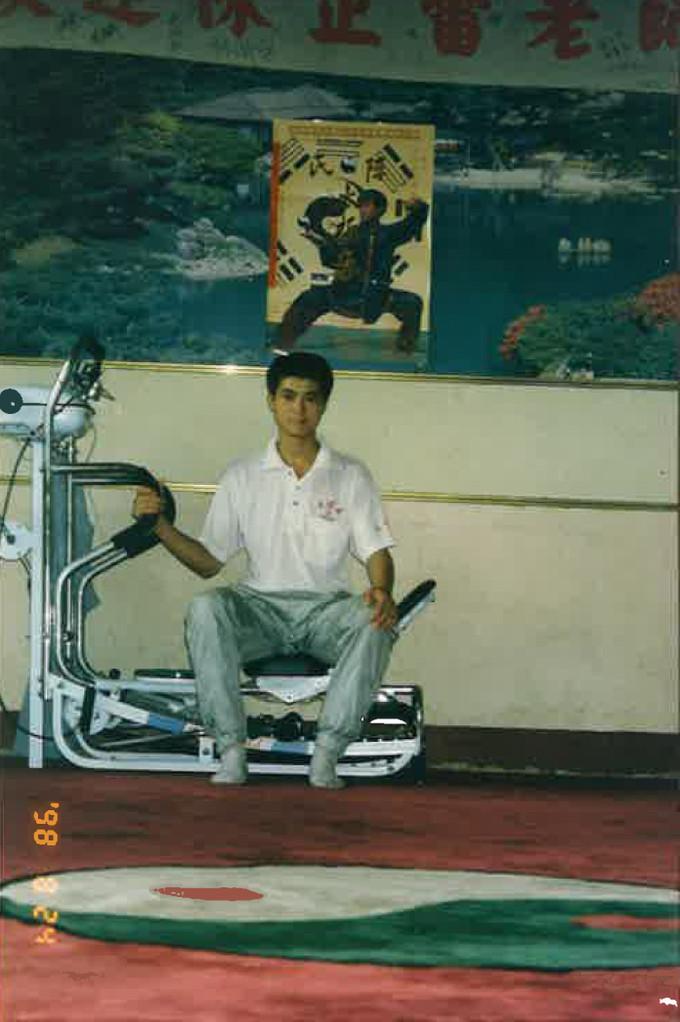 陳先生自宅の練習場写真