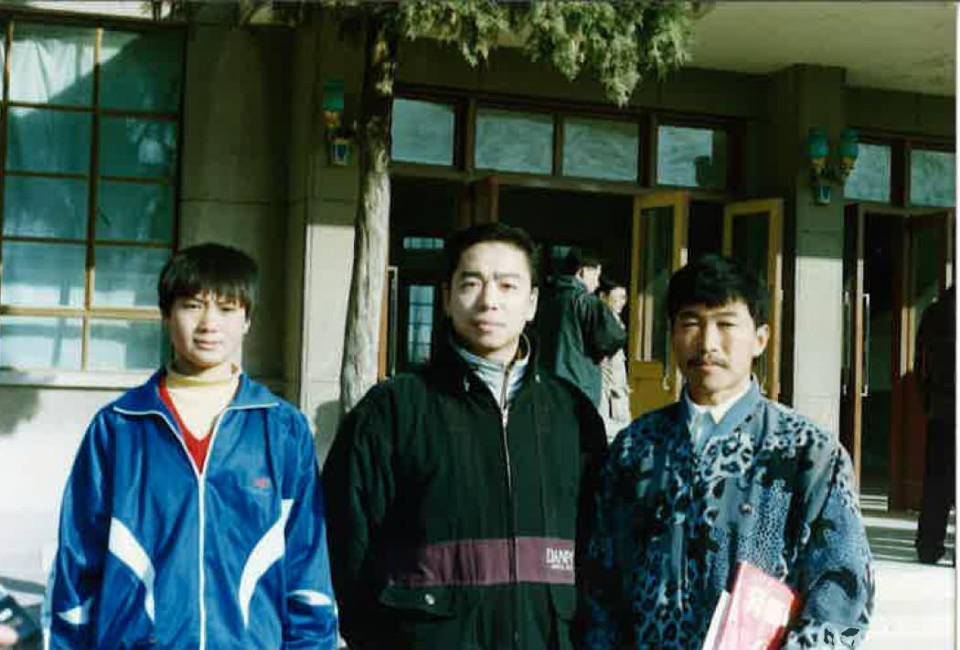 王二平先生と安秀龍先生との写真
