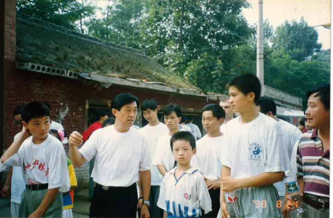 陳先生昔の自宅に行く時の写真