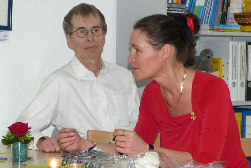 Ulrich Fabian und Sabine Krantz das Tangopaar