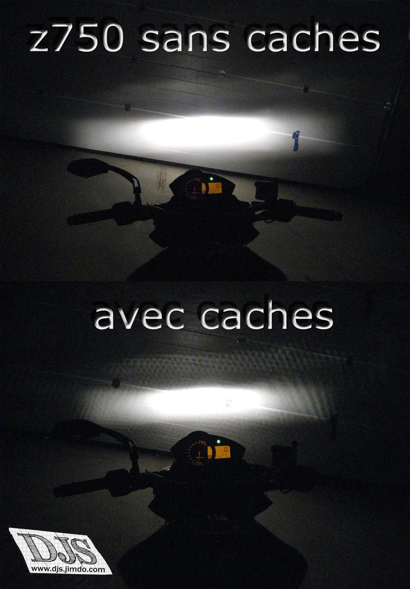 eclairage de nuit caches phares moto djs stickers de phares adh sif. Black Bedroom Furniture Sets. Home Design Ideas