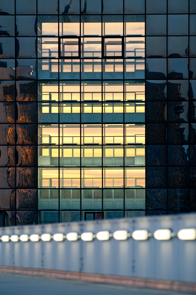 Bürogebäude in Frankfurt - © Dirk Brzoska