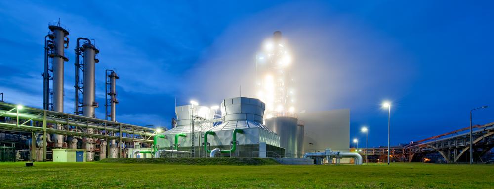 Gaskraftwerk im Industriepark Schwarze Pumpe - fotografiert für VNG - © Dirk Brzoska  - Fotograf aus Leipzig