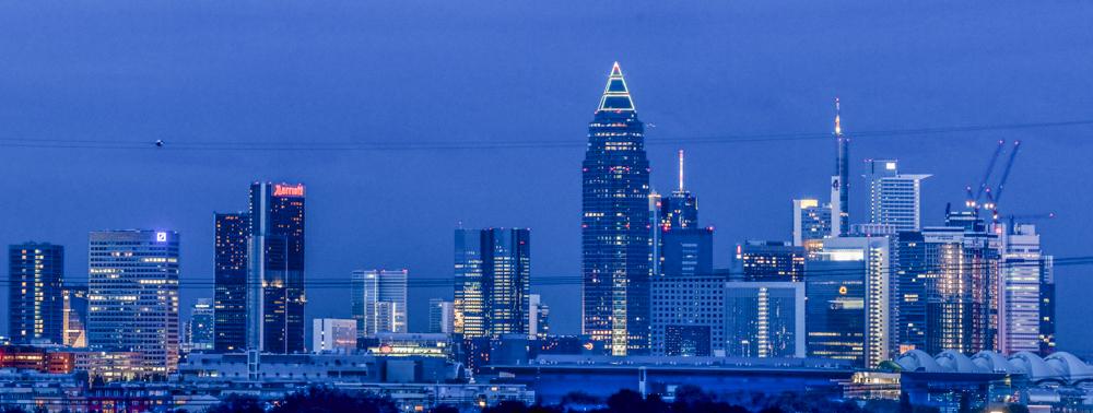 Skyline von Frankfurt - © Dirk Brzoska